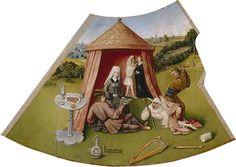 Художник - Иероним Босх, картина «Похоть. Семь смертных грехов и Четыре последние вещи. Фрагмент»: Северное Возрождение, Религиозная сцена