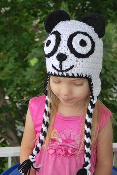 Panda Bear Crochet Hat: https://www.outbid.com/auctions/1520#4