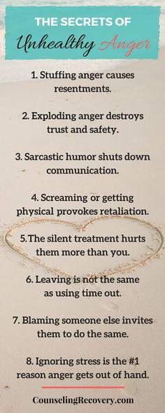 123 best anger management images on Pinterest | Mental health ...