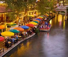 San Antonio - but this time I would love to go at Christmas time.  They were just putting up the Christmas lights along the Riverwalk when we were there in October.