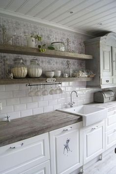 Ambrosial Small kitchen cabinets online shopping,Kitchen design layout dimensions and Cost of kitchen remodel layout. Fancy Kitchens, Modern Farmhouse Kitchens, Farmhouse Kitchen Decor, Home Kitchens, Farmhouse Style, Farmhouse Ideas, Kitchen Modern, Kitchen Interior, Colonial Kitchen