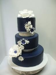 62 Best Navy White And Silver Wedding Cake Images Pie Wedding