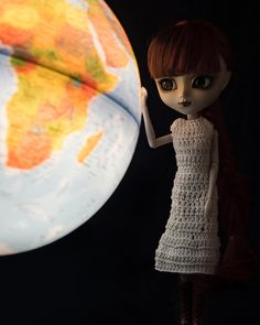 Tsukiko [Pullip Wilhelmina] Disney Characters, Fictional Characters, Globe, Earth, Dolls, Disney Princess, Instagram, Baby Dolls, Speech Balloon