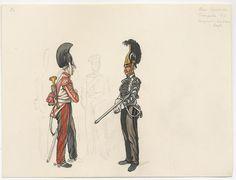 "Russia Cuirassier Trumpeters of ""Novgorod"" and ""Order"" Regts. 1815"