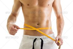 Fit shirtless man with tape measure ...  Shirtless, abdominal, abs, adult, athlete, attractive, beautiful, beauty, body, bodybuilder, bodybuilding, caucasian, centimeters, chest, diet, energy, exercise, figure, fit, fitness, form, hand, handsome, health, isolated, lose, loss, male, man, measure, muscles, muscular, naked, nipple, person, scale, sexy, shape, slender, sport, stomach, strong, tape, torso, training, waist, weight, white, workout, young