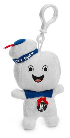Ghostbusters Plush Clip-On w/ Sound