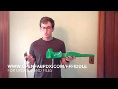 3D-printed electric violin sounds surprisingly well | Walyou
