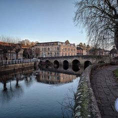 Afternoon in Bradford upon Avon. Great place for walking.