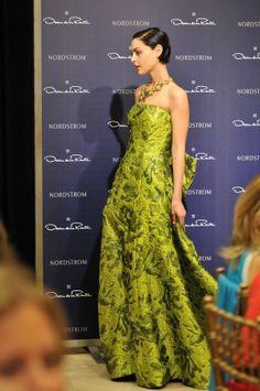 Breathtaking gowns at the Oscar de la Renta luncheon.