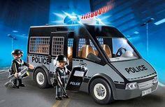 Furgón de policía con luz y sonido. #Playmobil City Action desde 19,36 €