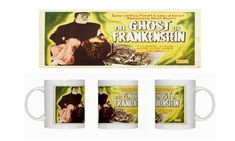 The Ghost of Frankenstein - Lon Chaney Jr - Bela Lugosi - Coffee Mug @ niftywarehouse.com #NiftyWarehouse #Frankenstein #Halloween #Horror #HorrorMovies #ClassicHorror #Movies