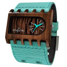 Wood Watches   Ferro   Pui or Teak Wood w/ Ebony by MisturaWatches