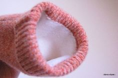 Tutorial for making lined mittens & hats from old sweaters