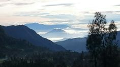 View point from Mount Bromo, East Java, Indonesia
