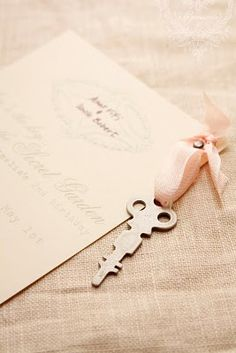 Invites for pale pink party