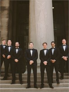 tuxedo groomsmen @weddingchicks