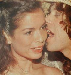 Bianca & Mick Jagger.