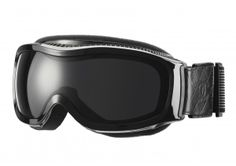 Black ski goggles_Masque de ski noir