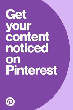 Do you use Instagram? Love selling things on Etsy? Passionate about blogging? Get your content noticed on Pinterest. Pinterest Website, Your Website, You Got This, The Creator, Projects To Try, Content, Blogging, Hacks, Tools
