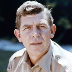 """Grammy-winning actor-comedian Andy Griffith (""""The Andy Griffith Show,"""" """"Matlock,"""" """"Waitress"""") (1926 - 2012)"""
