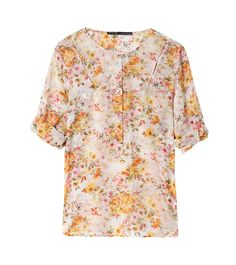 FLORAL PRINT BLOUSE - Tops - Woman   ZARA United States $50