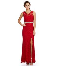 Jodi Kristopher OneShoulder Beaded Trim Dress #Dillards   The ...