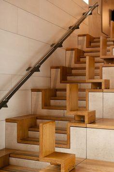 Tổng hợp những mẫu cầu thang gỗ đặc biệt, độc đáo