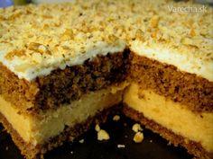 Karamelové kocky (fotorecept) Tiramisu, Sweet Tooth, Cheesecake, Food And Drink, Rum, Baking, Ethnic Recipes, Desserts, Pies