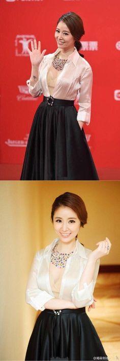 上海電影節紅毯照ps前後對比,宋茜無差別,王珞丹也太醜了吧