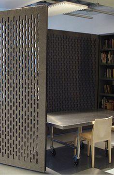 pattern - felt wall - room divider