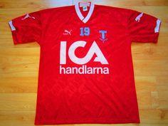 Malmö FF bortatröja  1990-91  Puma  MalmöFF Fotboll d45a10b2e2922