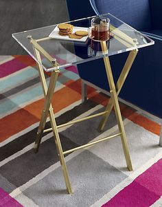 Amazing of Acrylic Accent Table Novo Acrylic Folding Table Acrylics Accent Tables And Side Tables - Picking out the ideal accent table may be a great deal Lucite Furniture, Acrylic Furniture, Furniture Showroom, Table Furniture, Modern Furniture, Furniture Design, Burlap Furniture, Furniture Buyers, Victorian Furniture