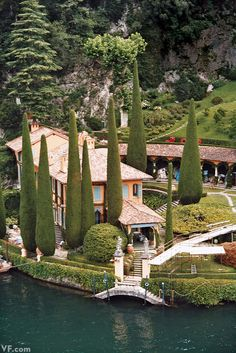 Photos: Photos: Lake Como's Villas, Interiors, and Glamorous Denizens | Vanity Fair