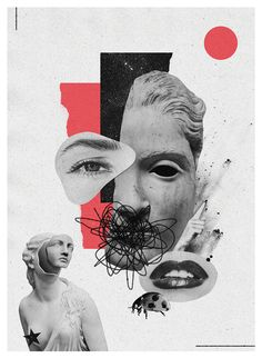 Discover recipes, home ideas, style inspiration and other ideas to try. Art Du Collage, Collage Illustration, Collage Design, Graphic Design Posters, Graphic Design Inspiration, Graphic Art, Photomontage, Posters Conception Graphique, Buch Design