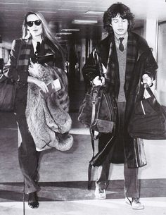 Jerry Hall & Mick Jagger