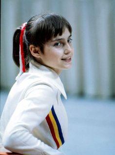 Nadia Comaneci. She's such a cutie :)