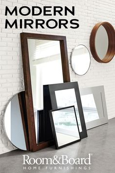 Our modern wall and leaning mirrors come in a variety of shapes, sizes and colors to seamlessly fit into any space.