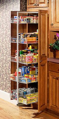 Kitchen Pantry Organization Systems | Smart Solutions For Better Kitchen Organization - Idea File view
