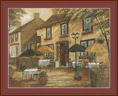 The Mobley Inn Cross Stitch Pattern