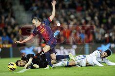 Iniesta, FC Barcelona | BARÇA, 3 - ZARAGOZA, 1. 17.11.12.