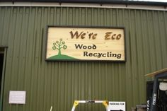 We're Eco. A community wood recycling project and social enterprise based in Taunton, UK. Great source for reclaimed wood. Find yours at communitywoodrecycling.org.uk