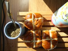 Easter treat: Hot Cross Buns. Simple recipe with step-by-step photos. Fool proof!!!