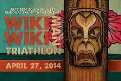 Postcard for the Wiki Wiki Man Triathlon