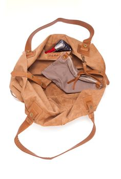 Borsa in pelle senape Bag borsa in pelle morbida di LadyBirdesign