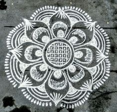 Flowers Art Drawing Sketches Awesome Ideas For 2019 Indian Rangoli Designs, Simple Rangoli Designs Images, Rangoli Designs Latest, Rangoli Designs Flower, Rangoli Border Designs, Rangoli Patterns, Rangoli Ideas, Rangoli Designs With Dots, Beautiful Rangoli Designs