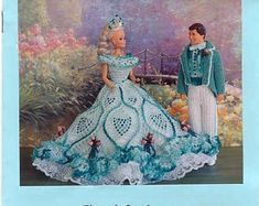 Barbie Crochet Gown, Crochet Barbie Patterns, Barbie Clothes Patterns, Crochet Barbie Clothes, Barbie Gowns, Barbie Dress, Clothing Patterns, Barbie Doll, Doll Dresses