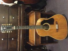 Beatles' era Höfner 12 string guitar. 1966 in great condition.