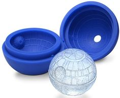 Star Wars Death Star ice sphere maker.  Made of silicone so it also works for chocolates.