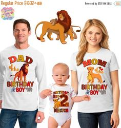 15% OFF Lion king birthday shirt/the Lion king por sweetlittletees