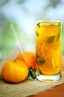 Tangerine and Mango Mojito - (Mojito de Tangerina e Manga)